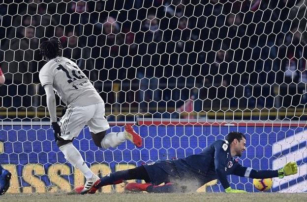 Bologna-Juventus Kean