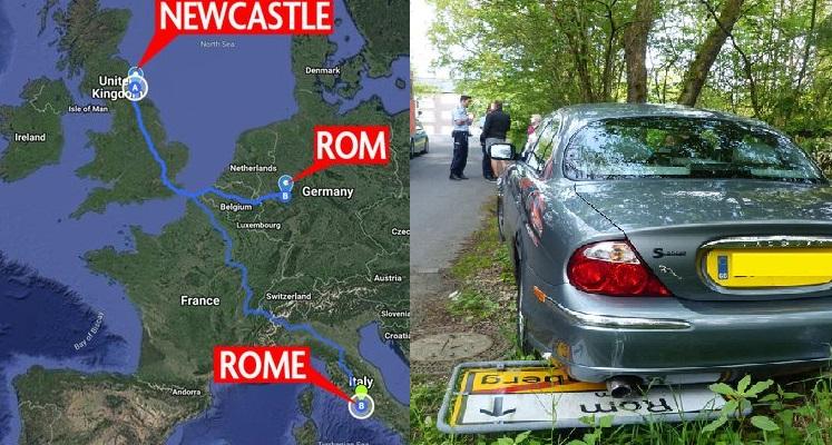 mappa rom roma