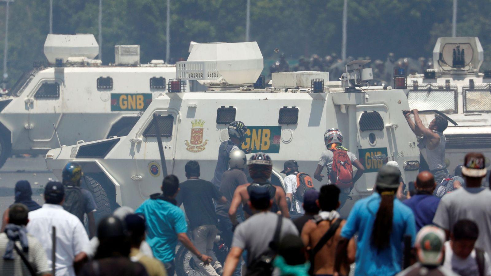 protesta venezuelana