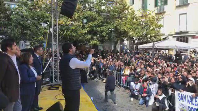 salvini a salerno