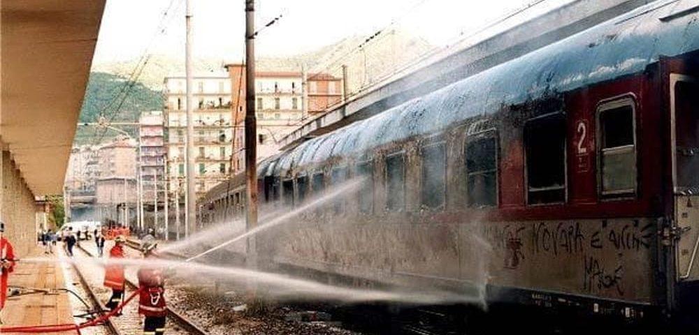 tragedia treno Salerno 20 anni