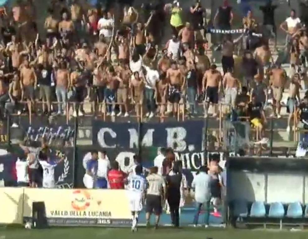 agropoli-brindisi 1-1 highlights
