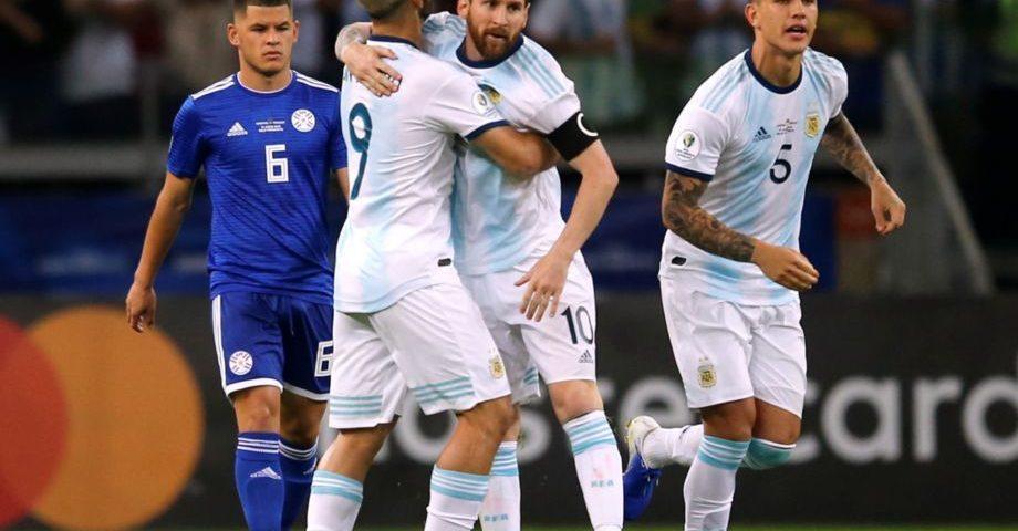 messi argentina-paraguay 2019