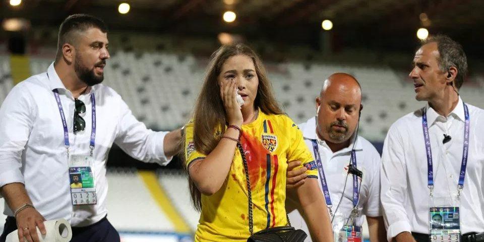 tifosa rumena ferita Cesena