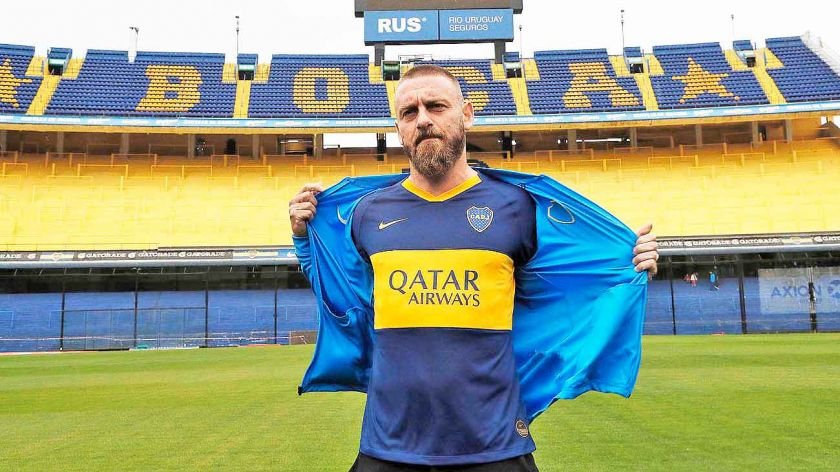 boca junior de rossi