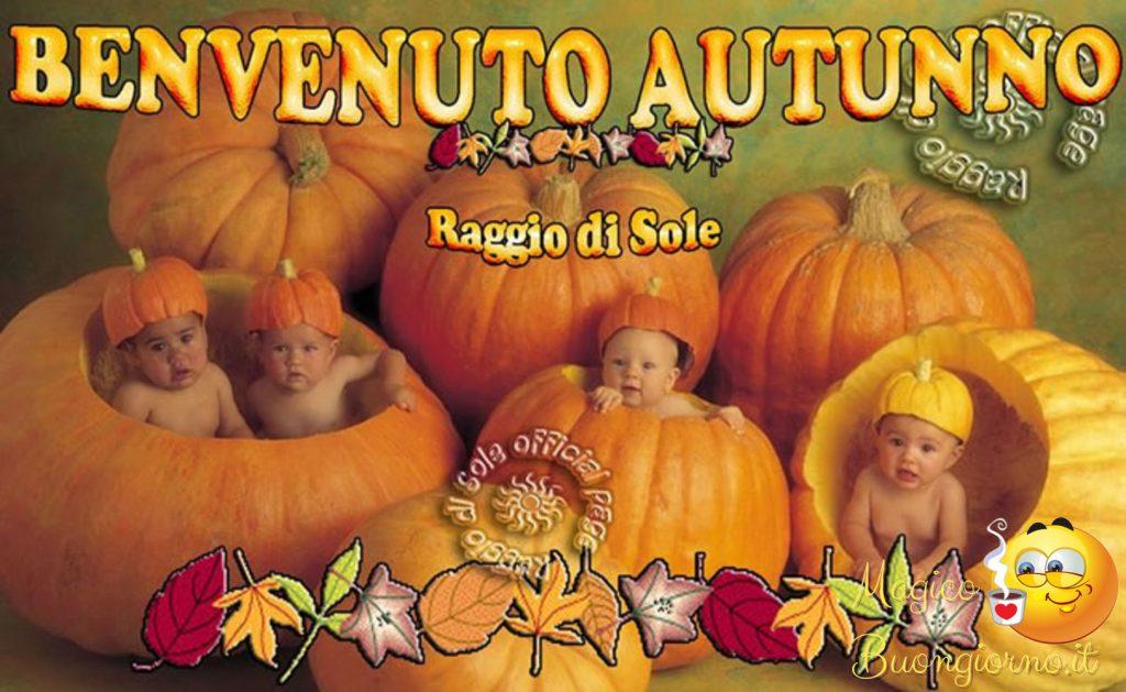 benvenuto autunno immagini