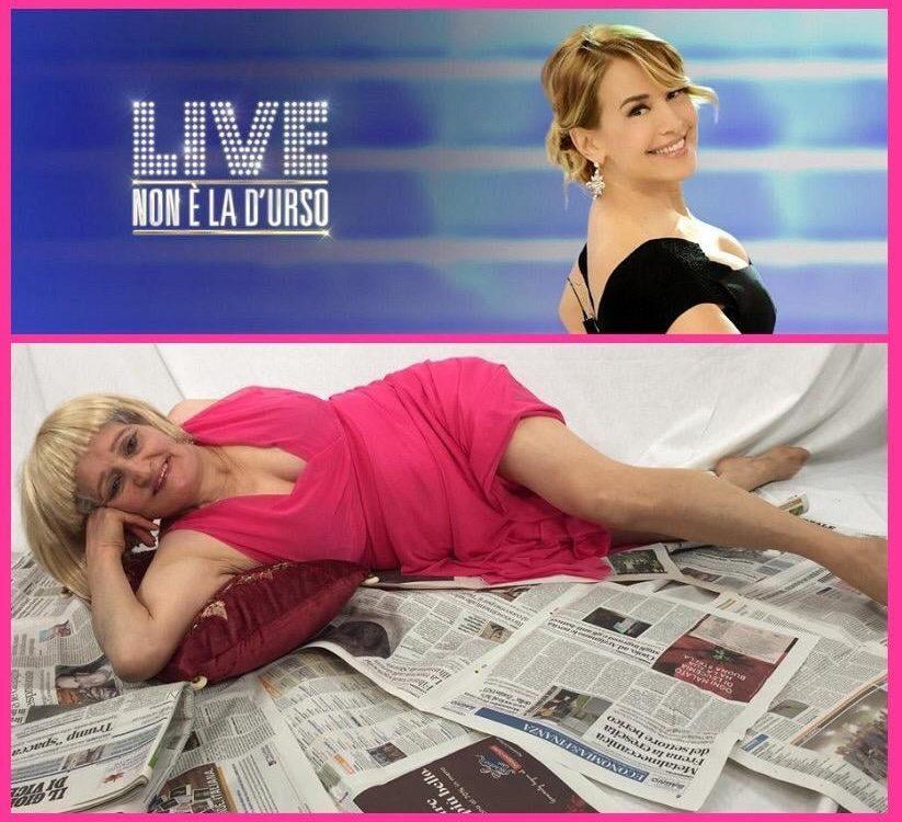 Tina Muller a Live Non è la D'Urso