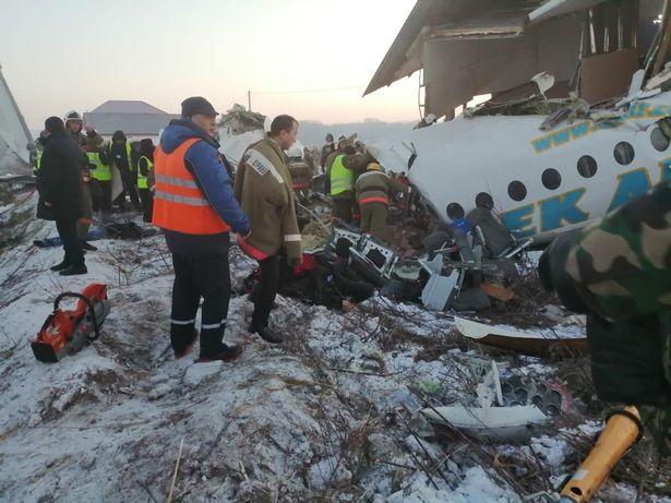 incidente aereo kazakistan