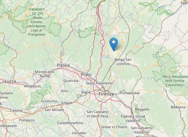 terremoto Barberino oggi