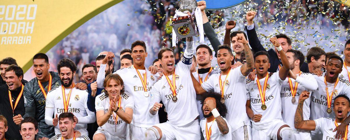 Real Madrid campione di Supercoppa