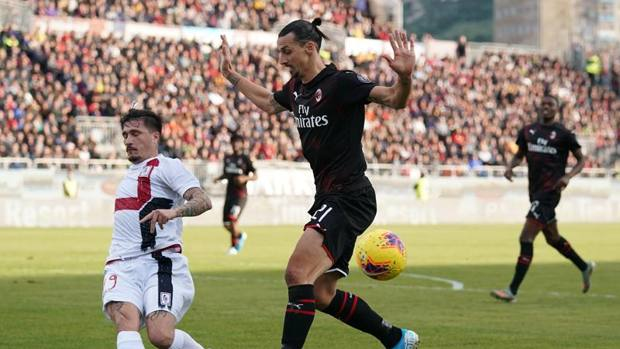 Ibrahimovic cagliari video gol