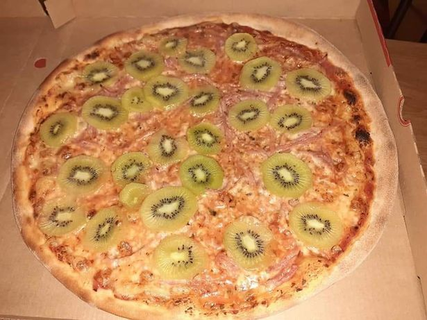 pizza al kiwi ingredienti