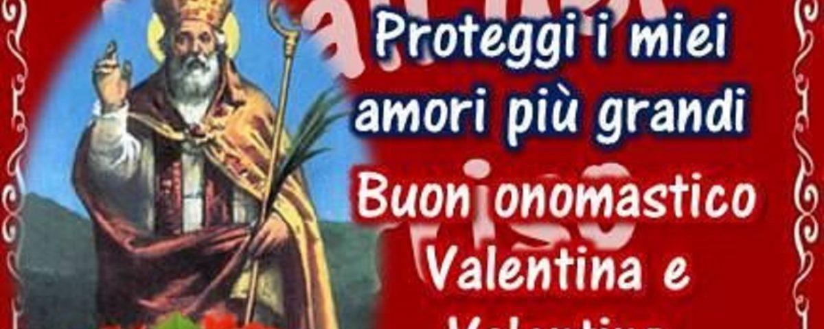 buon onomastico Valentino