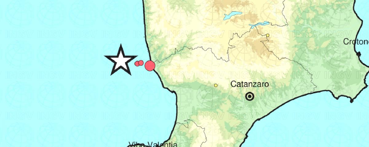 terremoto costa calabra oggi