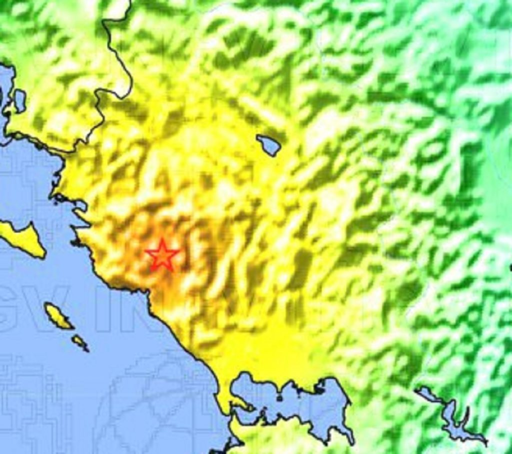 terremoto ora Grecia