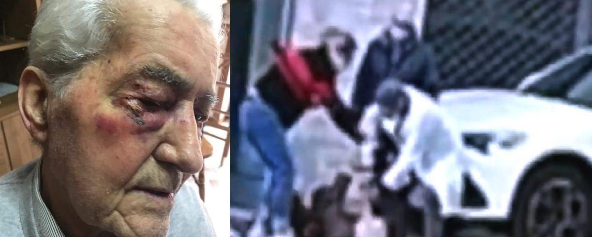 anziano aggredito medico video