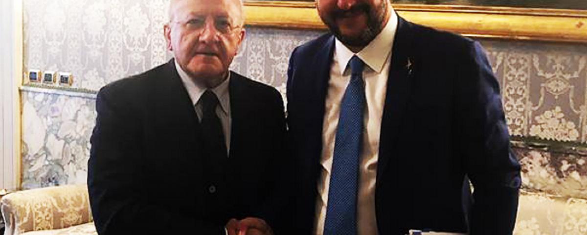 De Luca Salvini
