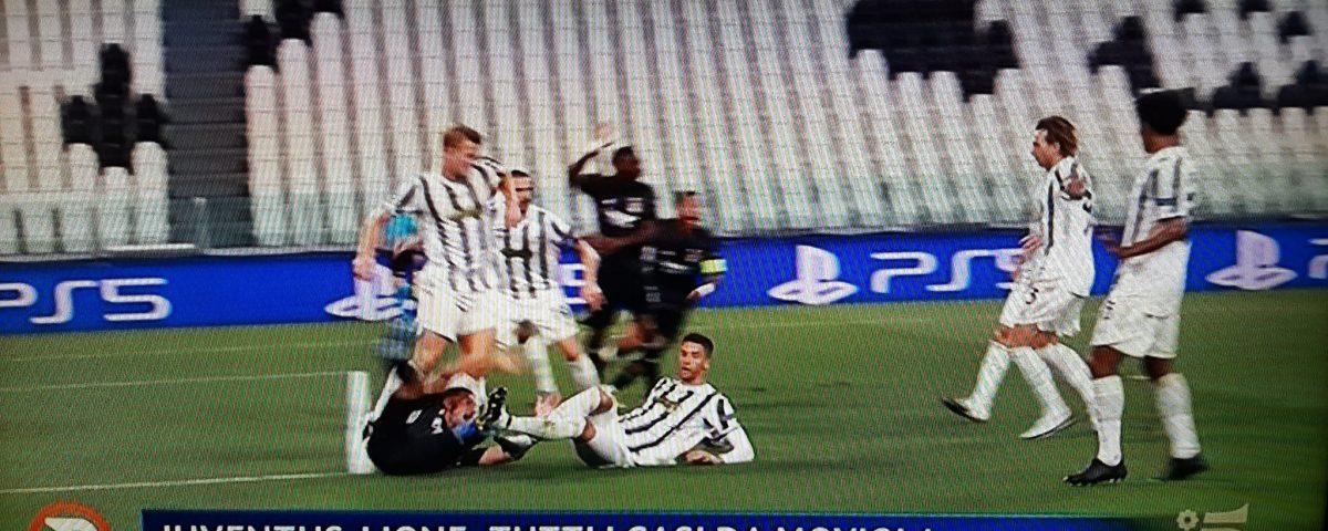 Juventus-Lione Twitter
