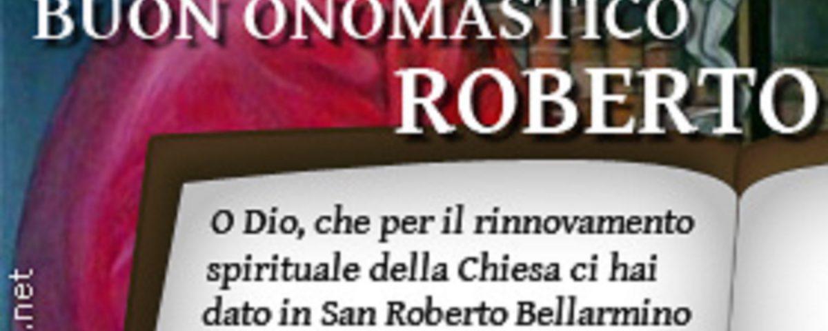 auguri Roberto