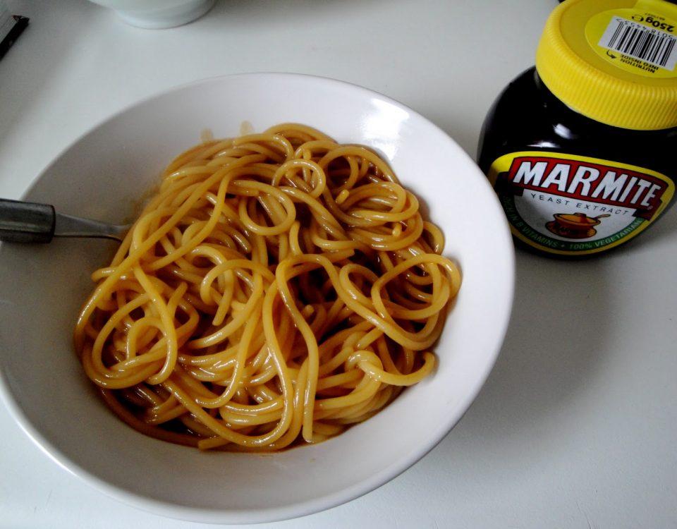 spaghetti marmite