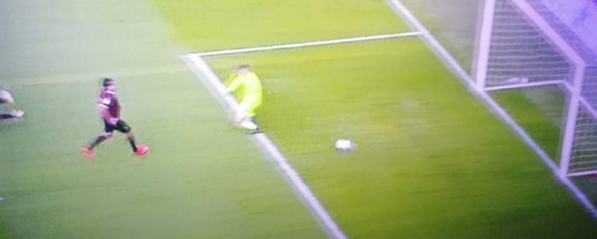 Samp-Salernitana gol