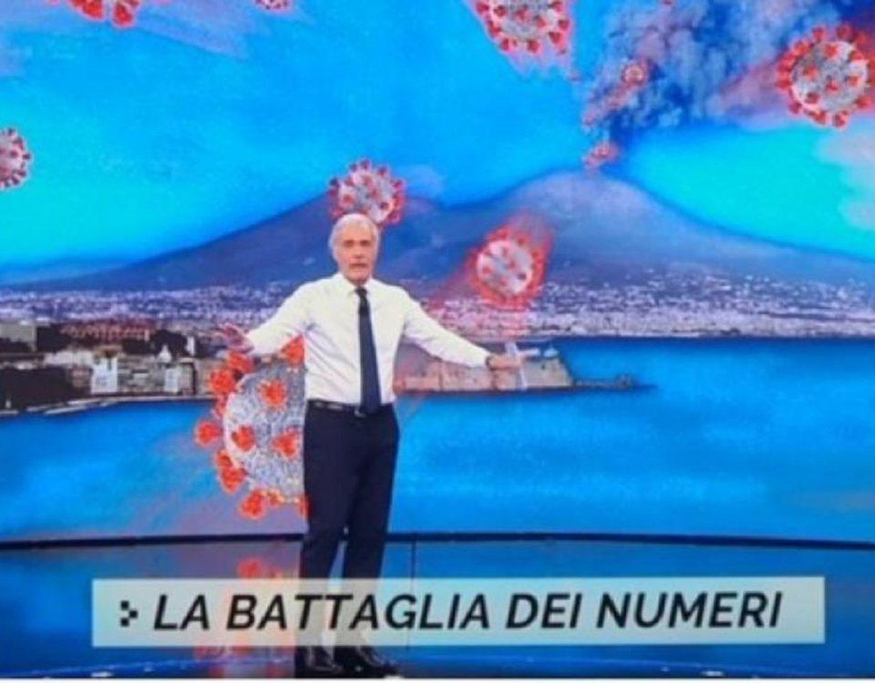 Massimo Giletti Vesuvio