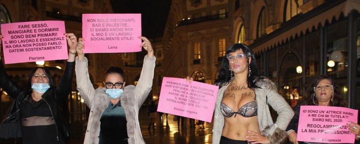 protesta Duomo Milano