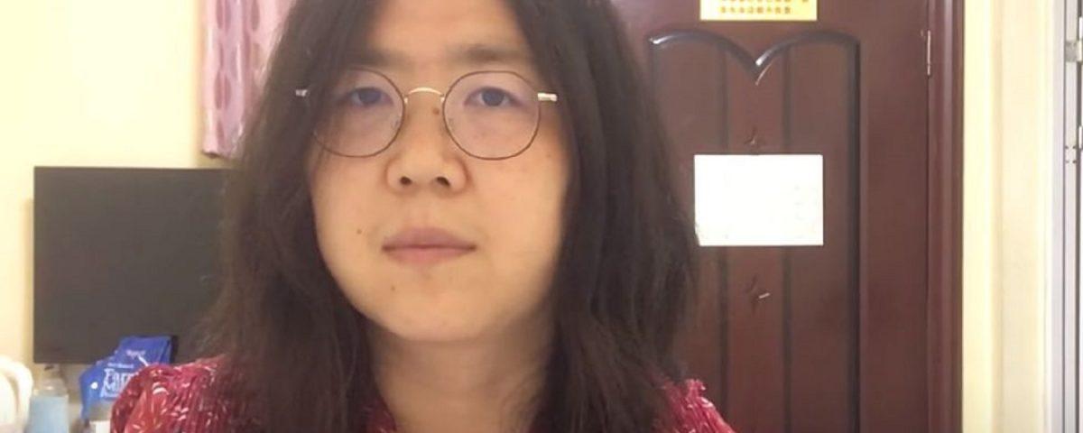 Zhang Zhan Wuhan condanna