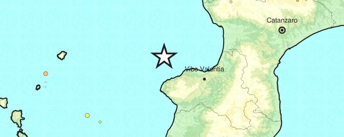 Terremoto Vibo Valentia