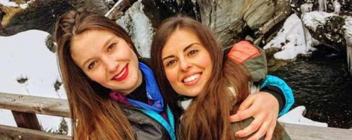 Martina e Paola alpiniste